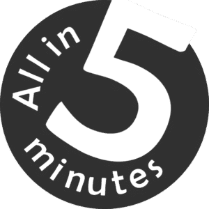 All in 5 Minutes logo