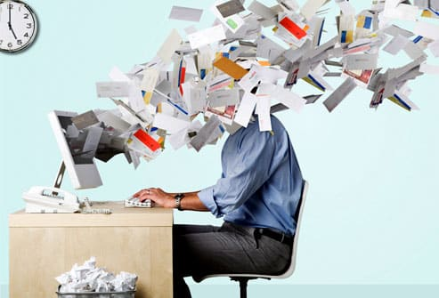 email clutter image