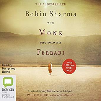 The Monk Who Sold His Ferrari cover